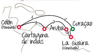 Disfruta del grandioso crucero Pullmantur que sale desde Cartagena- Aruba- La Guaira (Venezuela)- Curacao Colon (Panamá)