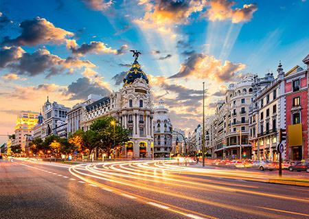 Euroexpress (17 días y 7 países) Inicio Londres - Fin Madrid