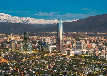 Suramérica (17 días) inicia Santiago - fin Río de Janeiro