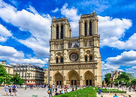 Europa - 16 días - 4 países - Inicio París - Fin Madrid
