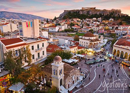Esplendor de Atenas (4 Días) inicio/fin Atenas