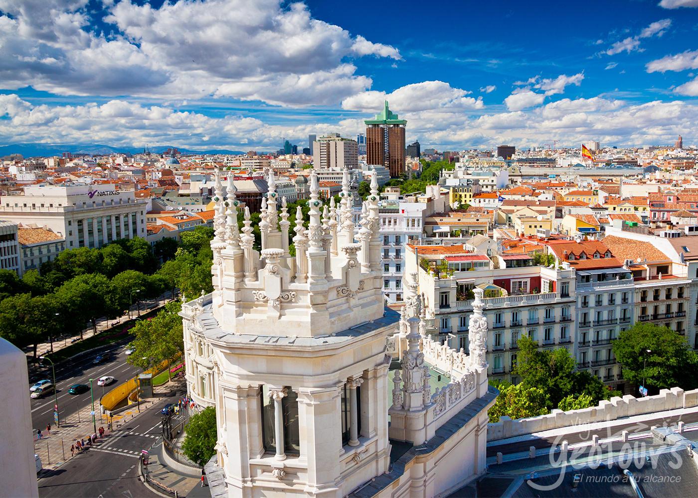 Andalucía en tren (5 días) inicio/fin Madrid