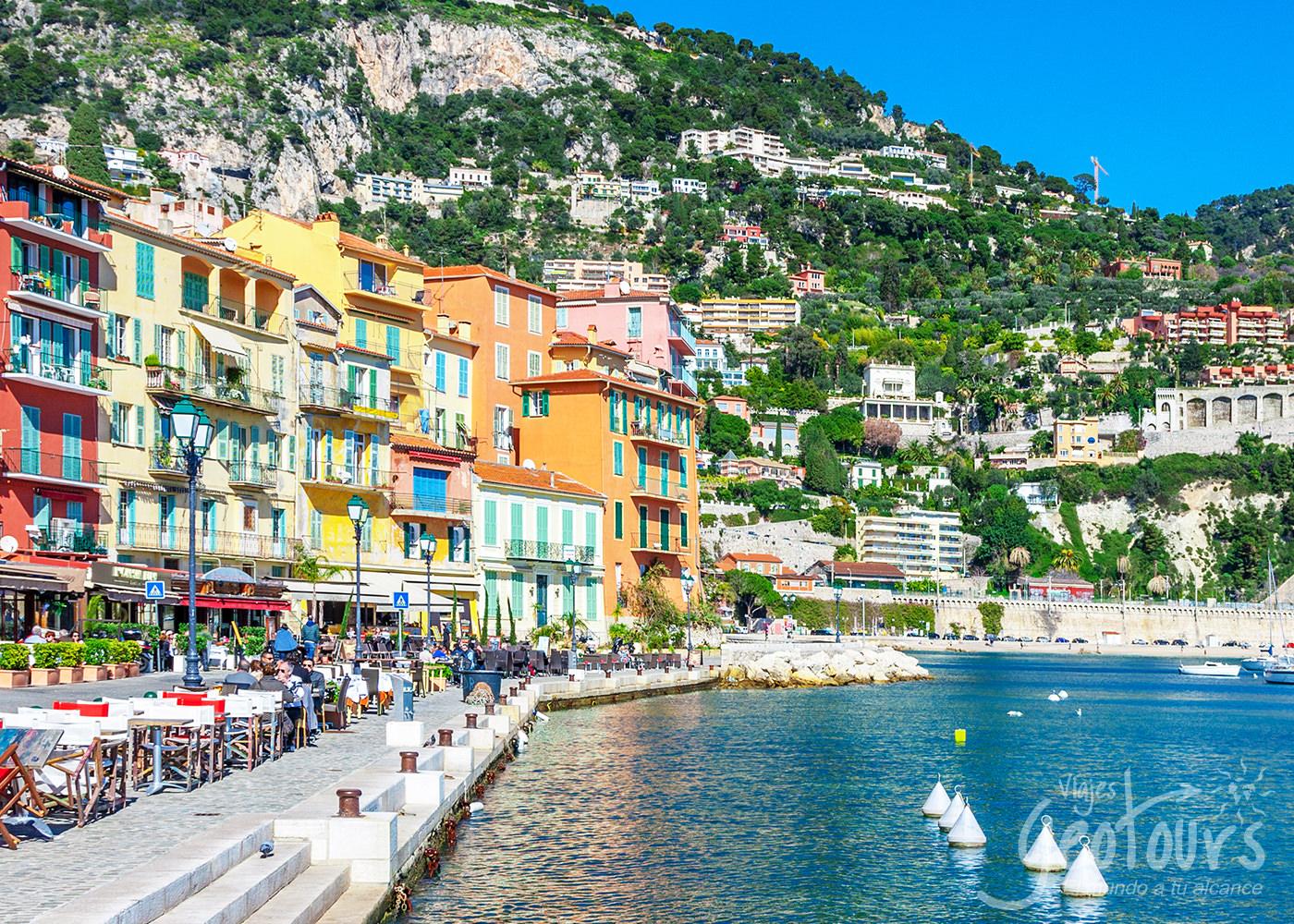 Costa Azul (5 días) inicio/ fin Niza